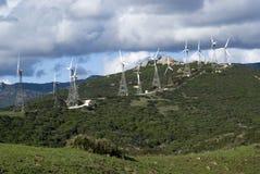 Parque eólico Imagenes de archivo