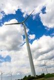 Parque eólico Imagen de archivo