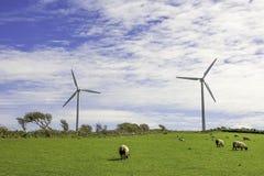 Parque eólico Reino Unido foto de archivo