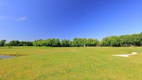 Parque e campo de golfe Fotografia de Stock