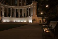 Parque e fonte Fotografia de Stock Royalty Free