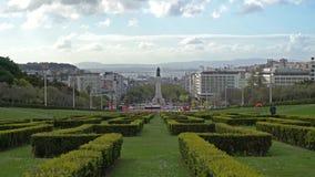 Parque Edoardo VII em Lisboa filme