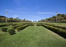 Parque Eduardo VII πάρκο Λισσαβώνα Πορτογαλία Στοκ εικόνες με δικαίωμα ελεύθερης χρήσης