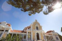Parque Eduardo VII parkerar Lissabon Portugal Arkivbilder