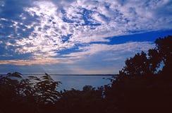 Parque elevado do penhasco do por do sol Fotografia de Stock Royalty Free