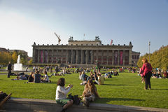 Parque em Berlim Foto de Stock Royalty Free