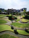 Parque em Blankenberge imagens de stock royalty free