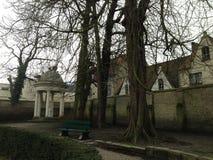 Parque em Bruges Fotos de Stock Royalty Free
