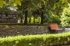 Parque em Cluj-Napoca Foto de Stock Royalty Free