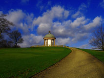 Parque em Manchester, Inglaterra Imagem de Stock