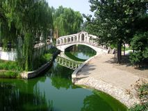 Parque em Pekin Fotografia de Stock Royalty Free