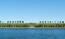 Parque em Peterhof Imagem de Stock