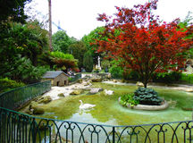 Parque em San Sebastian foto de stock