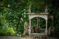 Parque em Sintra imagens de stock royalty free