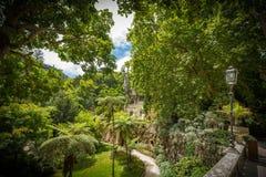 Parque em Sintra foto de stock