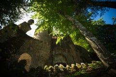Parque em Sintra imagem de stock