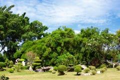 Parque em Tailândia. Foto de Stock Royalty Free