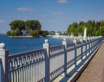 Parque em Ternopil Foto de Stock Royalty Free