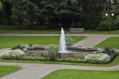 Parque em Toelz mau imagem de stock