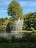 Parque em Utrecht Foto de Stock Royalty Free