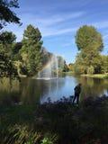 Parque em Utrecht Fotos de Stock Royalty Free