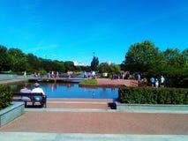 Parque em Varsóvia Fotografia de Stock Royalty Free