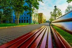 Parque empresarial  Imagens de Stock