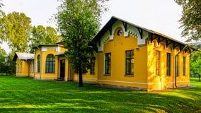 Parque empresarial Polyustrovo Imagem de Stock Royalty Free