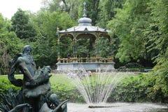 Parque en Bélgica Fotos de archivo