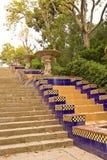 Parque en Barcelona Imagen de archivo