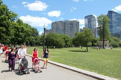 Parque en Boston Imagenes de archivo