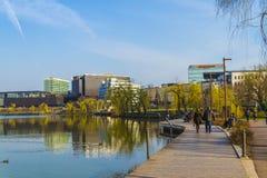 Parque en Cluj-Napoca fotos de archivo libres de regalías