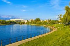 Parque en Cluj-Napoca foto de archivo libre de regalías