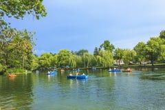 Parque en Cluj-Napoca fotografía de archivo
