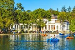 Parque en Cluj-Napoca imagenes de archivo