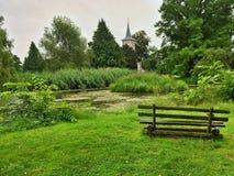 Parque en Criewen imagen de archivo