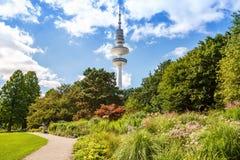 Parque en Hamburgo fotos de archivo libres de regalías