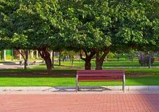 Parque en la ciudad Fotografía de archivo