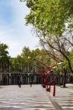 Parque en la ciudad de Baku Imagenes de archivo