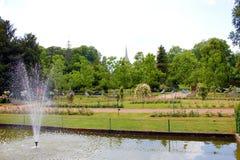 Parque en la ciudad de Nancy Francia imágenes de archivo libres de regalías