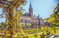 Parque en La Haya fotos de archivo libres de regalías