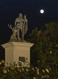 Parque en la noche Fotografía de archivo