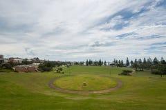 Parque en Newcastle, NSW, Australia Foto de archivo