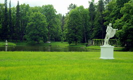 Parque en Oranienbaum, St Petersburg Fotos de archivo libres de regalías