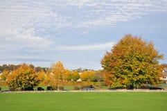 Parque en otoño foto de archivo libre de regalías