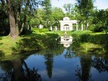 Parque en Pavlovsk Imágenes de archivo libres de regalías