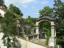 Parque en Praga Imágenes de archivo libres de regalías