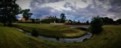 Parque en Praga Foto de archivo libre de regalías