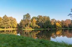 Parque en Pszczyna Foto de archivo
