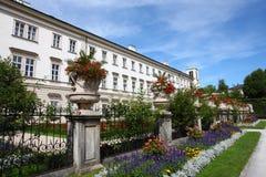 Parque en Salzburg Imagen de archivo